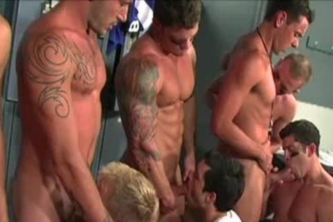 Gridiron group gangbang: Scene two