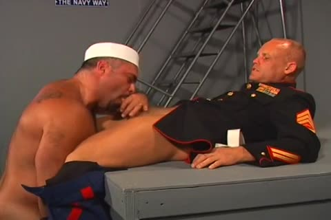 Two pretty Sailors nail Each Other Real Hard