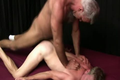 older Bear cum Swallowed
